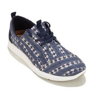 Toms Del Rey sneakers navy batik